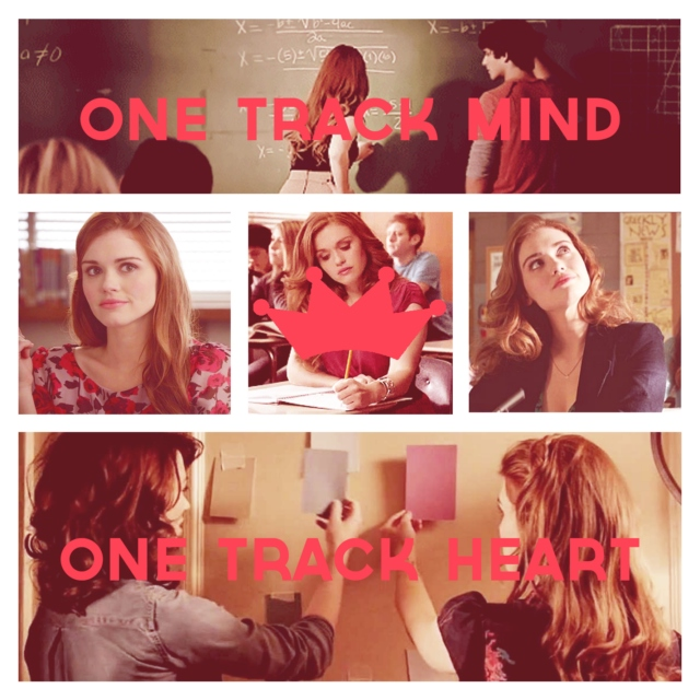 one track mind, one track heart - a lydia martin fanmix
