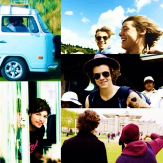 AU Larry : Road trip.