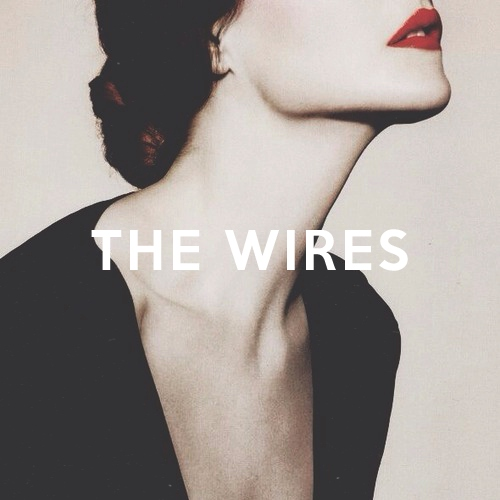 the wires.