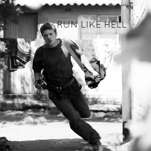 Run Like Hell Is Chasing You