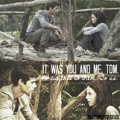"""""""it was you and me, tom"""""""