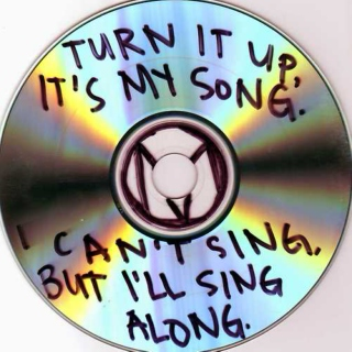 turn it up, it's my song.