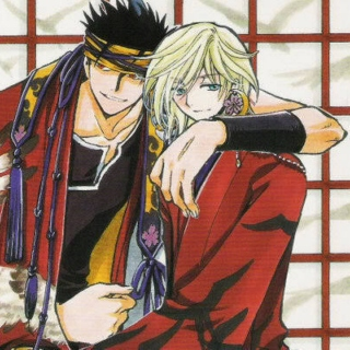 Kurogane and Fai_ Blood
