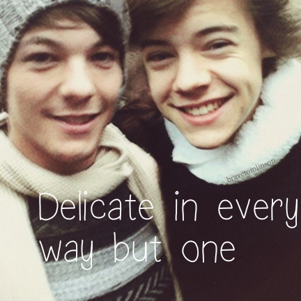 Delicate in every way but one