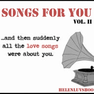 Songs for You Vol. 2 (June 2014)