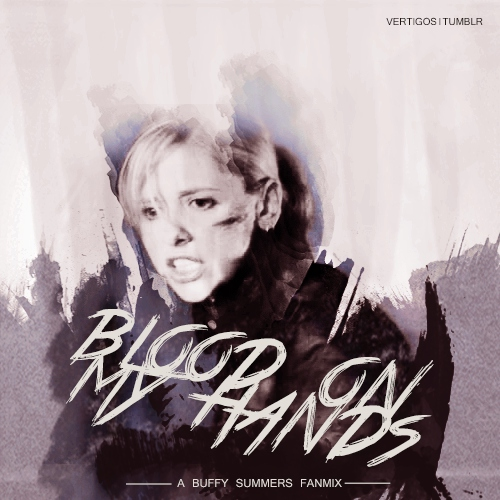 blood on my hands;