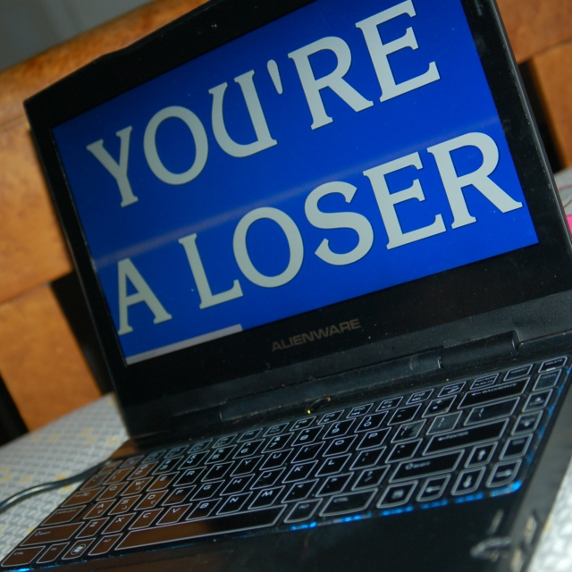 YOU'RE A LOSER