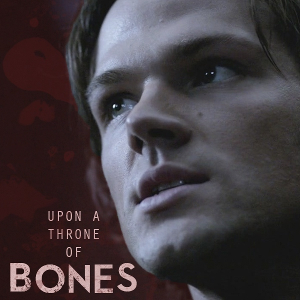 upon a throne of bones