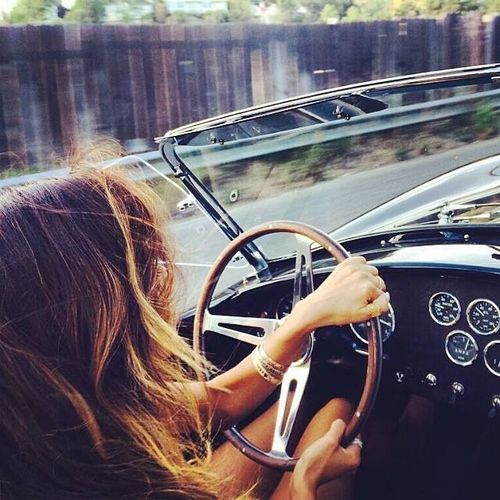 Windows down and cruise-