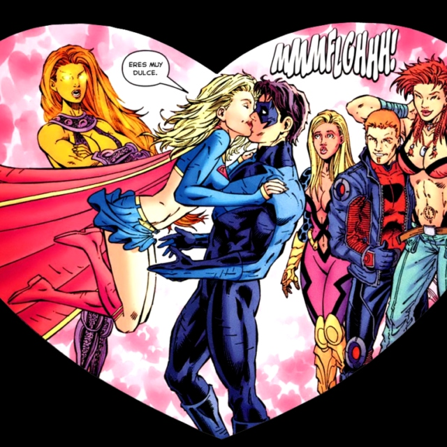The Nightwing to my Supergirl