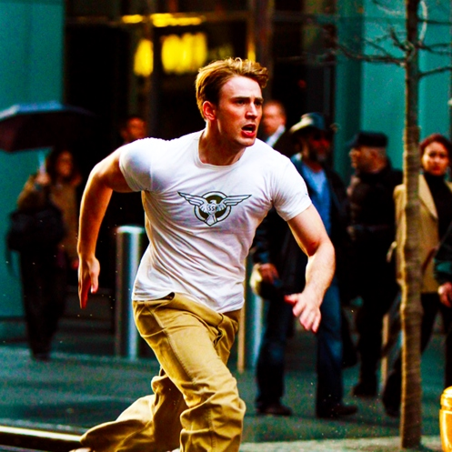 Captain America, lets work out