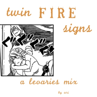 twin fire signs