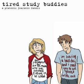 tired study buddies