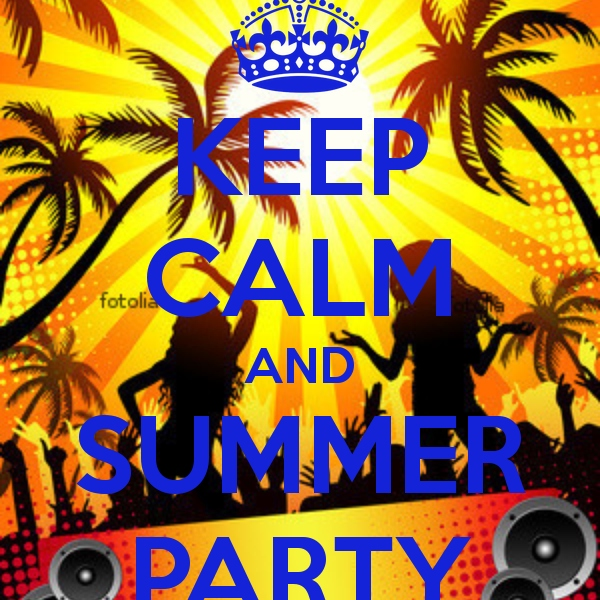 Keep Calm and Summer Party EDM 2014