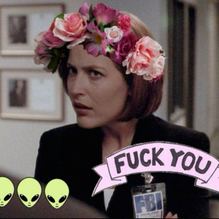 mulder, suck my dick