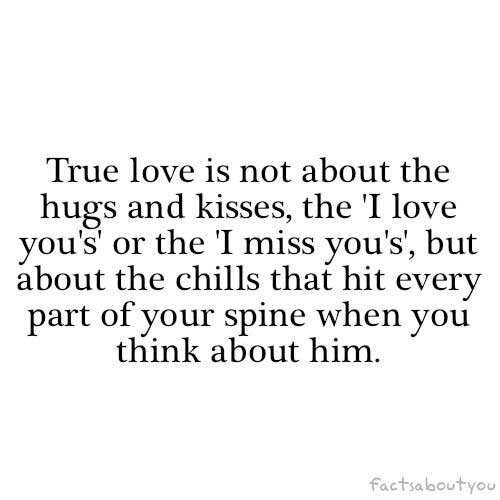 Missing your true love
