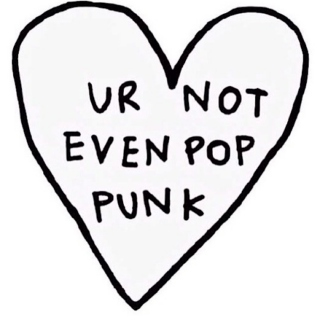☹that's not very punk of you☹