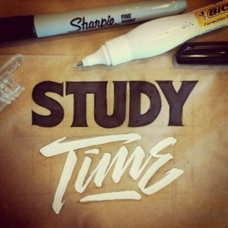 Time to get down and....... study