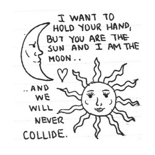 We will never collide.
