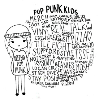 Dedicated to pop punk kids