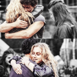 The rebel and the princess ♡ Bellamy and Clarke