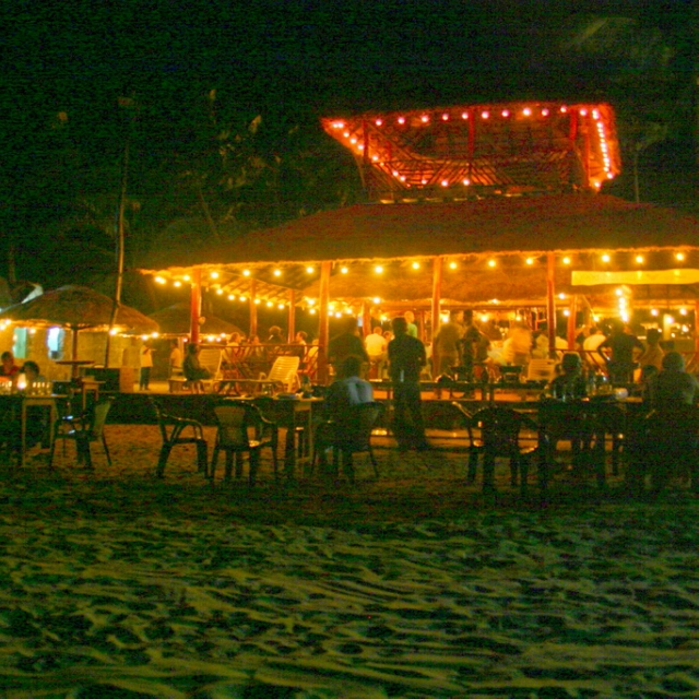 From beach side to bar side