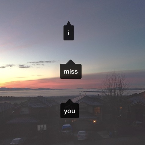 i miss how you wanted me