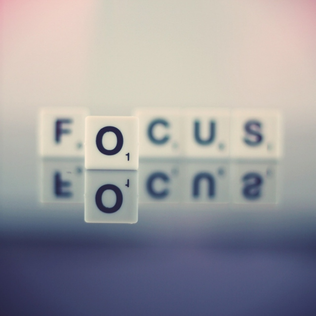 Desperately trying to focus