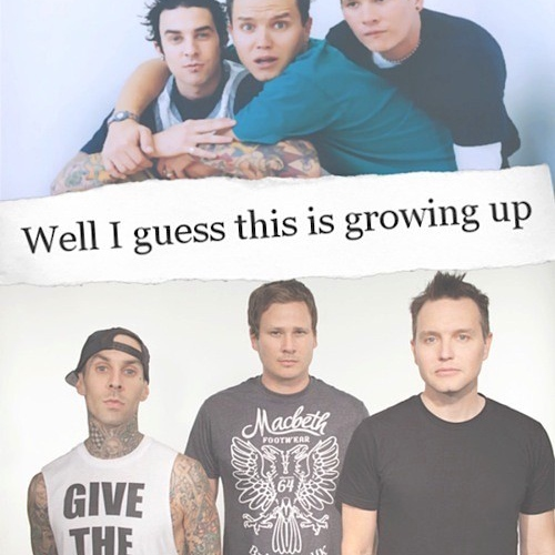 Well I guess this is growing up