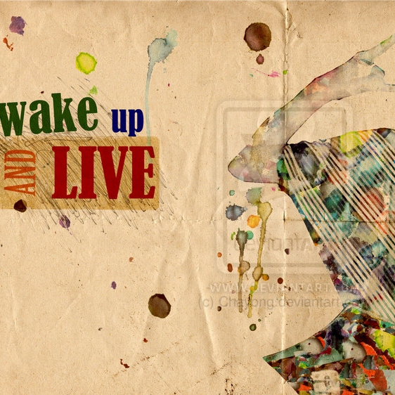 It's time... time 2 wake up!