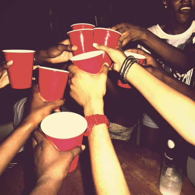 red cups and sweaty bodies everywhere