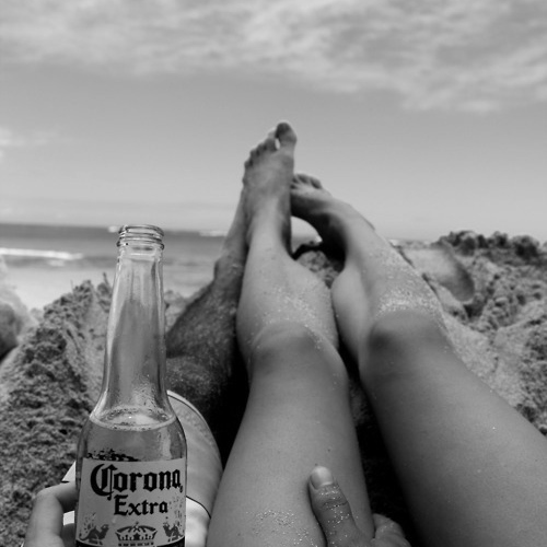 we fell in love right by the ocean