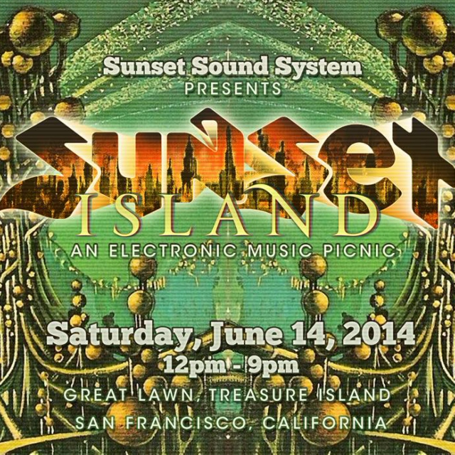Sunset Island: electronic picnic mix