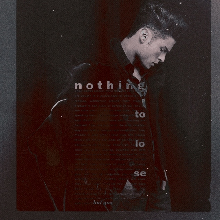 nothing to lose but you