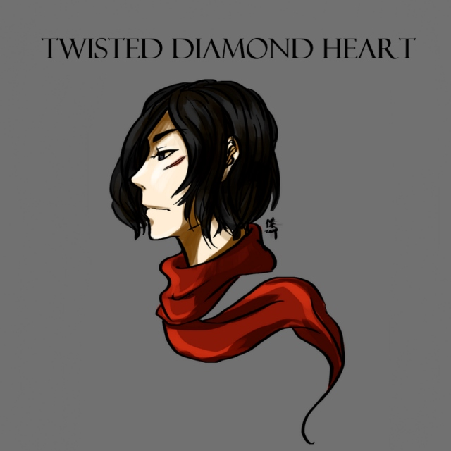 twisted diamond heart