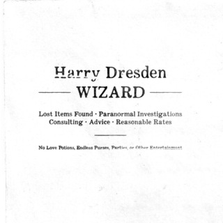 Harry Dresden, Wizard