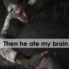 Then he ate my brain