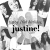 HAPPY BIRTHDAY JUSTINE PANGIT KANG SHIT KA