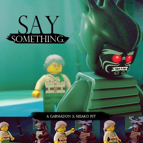 8tracks radio | say something - a garmadon x misako fst (16