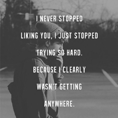 I Never Stopped Liking You