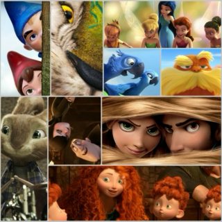 Pretty Songs from Pretty Animated Movies