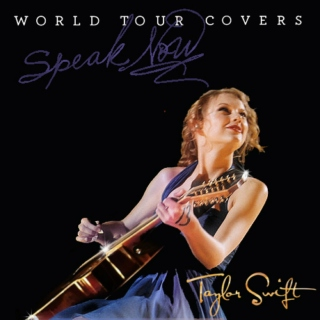 Speak now world tour Taylor Swift covers