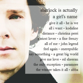 sherlock is actually a girl's name