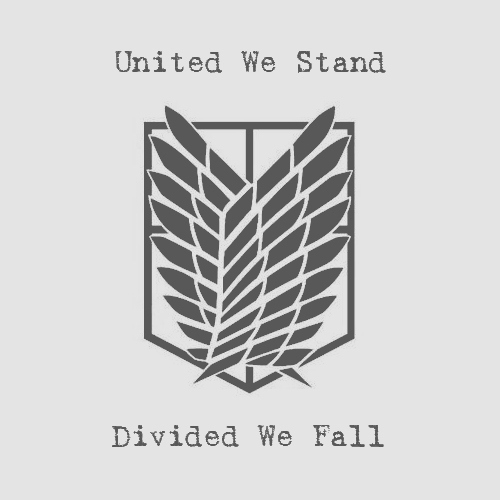 United We Stand; Divided We Fall