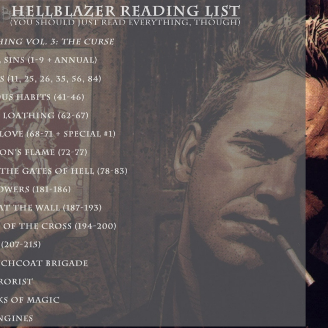 Hellblazer:  There's more than one road to hell.