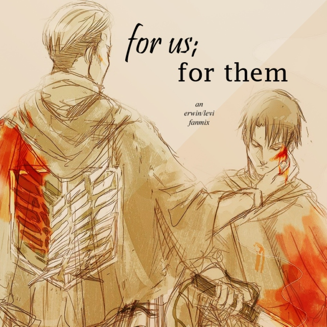 for us; for them