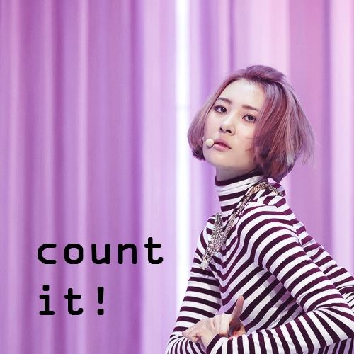 count it!