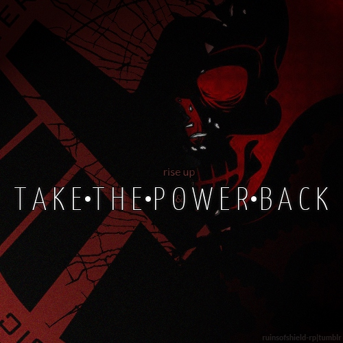 rise up & take the power back