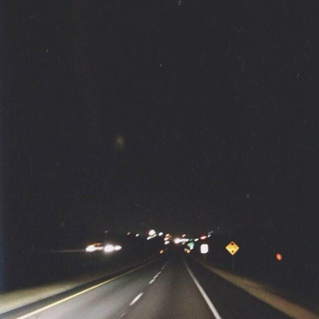 late night road trip