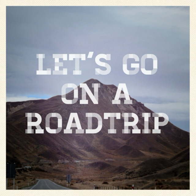Just You, Me, the Road, & Music...